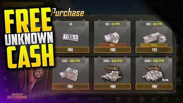 Get Free 900 UC In PUBG Mobile