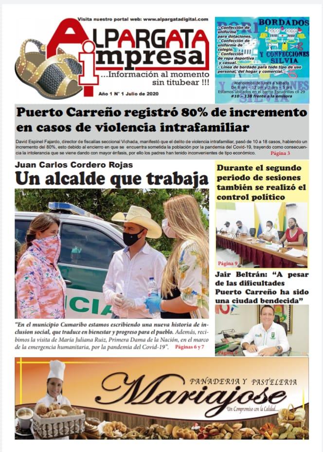 EMPRENDIMIENTO: Nace 'Alpargata Impresa', el periódico que dirige Periodista apureño Moisés Querales en Puerto Carreño Colombia.