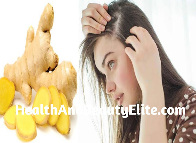 Ginger is good for scalp dryness and itching.Health And Beauty Elite.