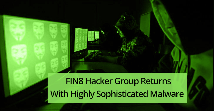FIN8 hacker group  - FIN8 2Bhacker 2Bgroup - FIN8 Hacker Group using Highly Sophisticated ShellTea Malware