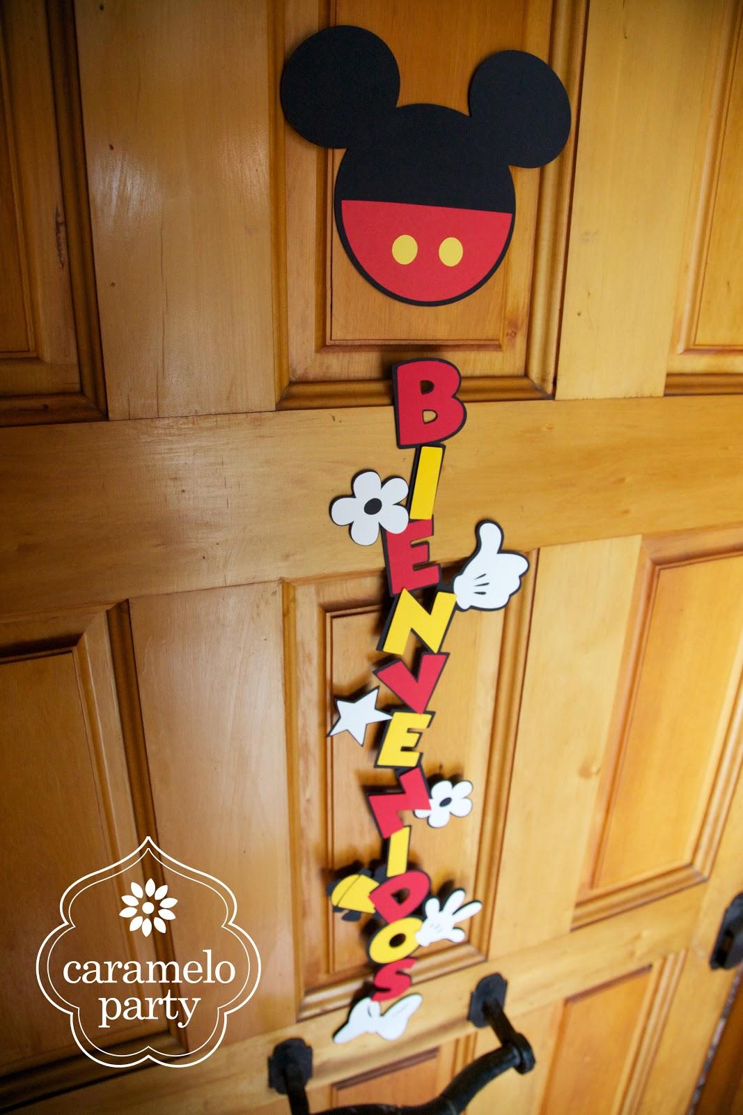 caramelo party fiesta de mickey y minnie mouse