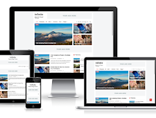 Download Infinite AMP Responsive Blogger Template Gratis 100%