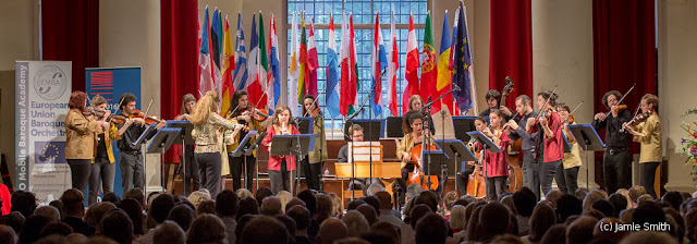 European Union Baroque Orchestra (EUBO) - photo Jamie Smith