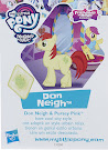 My Little Pony Wave 20 Don Neigh Blind Bag Card