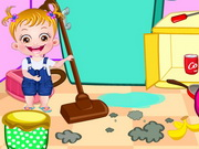 لعبة بيبي هازل وقت المساعدة وتنظيف المنزل