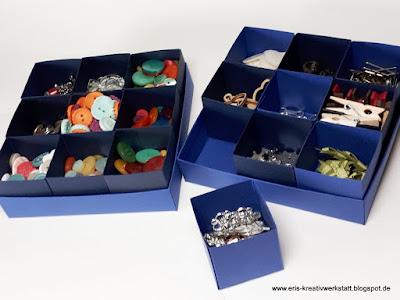 Ordnungssystem für kleine Bastel-Accessoires Stampin' Up! www.eris-kreativwerkstatt.blogspot.de