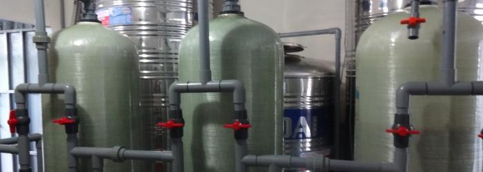 Lắp đặt hệ thống xử lý nước
