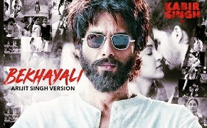 Bekhayali hindi lyrics : kabir singh Hourt touching song