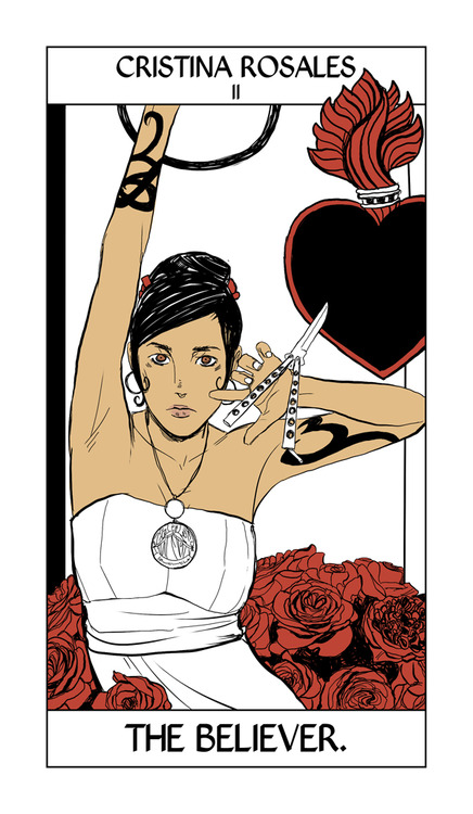 The Mortal Instruments Canada Shadowhunter Tarot Cards
