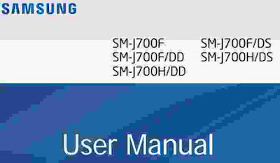 Samsung Galaxy J7 Manual