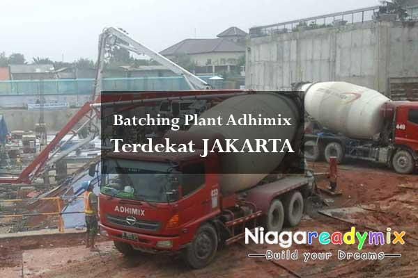 Adhimix Beton Jakarta - Info Harga & Batching Plant Terdekat