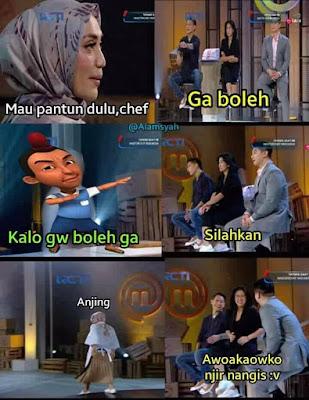 Meme MasterChef Indonesia 2019 - Pantun Jarjit