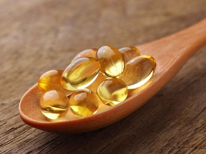 Suplementos de óleo de peixe
