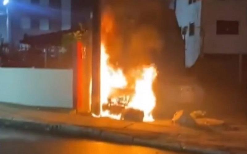 Incêndio em fiação destrói carro e se estende pela rede em condomínio no Cabula, em Salvador - Portal Spy Notícias de Juazeiro e Petrolina
