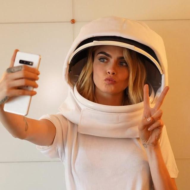 Cara Delevingne protagonizará el primer 'selfie espacial'