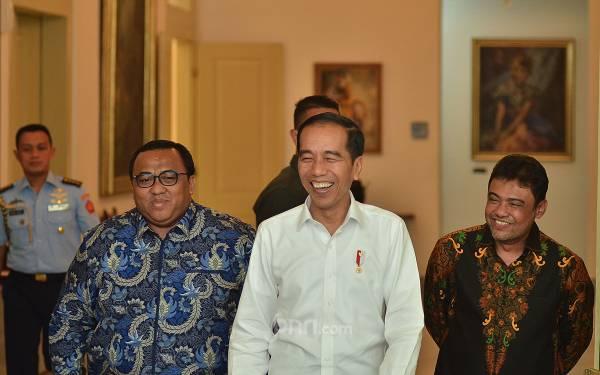 Usai Dijamu Jokowi, Andi Gani dan Said Iqbal Minta Buruh Tidak Ikut Demo
