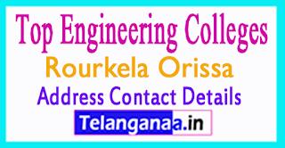 Top Engineering Colleges in Rourkela Orissa