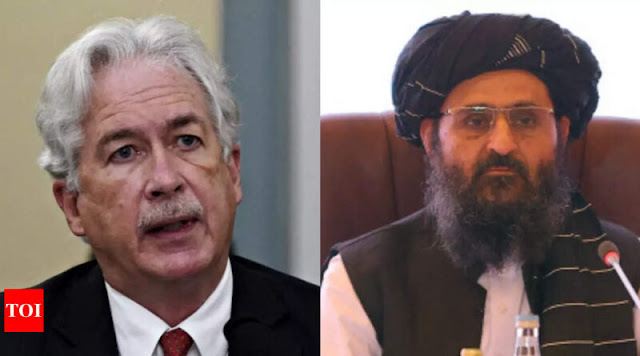 Ssttt... Bos CIA Diam-diam Bertemu Pendiri Taliban di Kabul