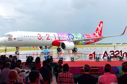 Launching 1st A321 Neo Armada Baru AirAsia Airbus A321neo KLIA2,