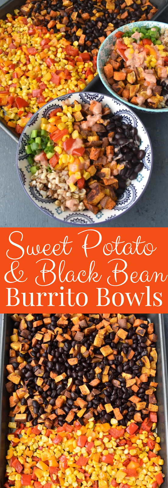 Sweet Potato and Black Bean Burrito Bowls