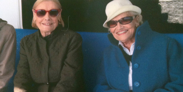 Twins, 97, leave the world as they entered it - together : Jean Young Haley and Martha Young Williams