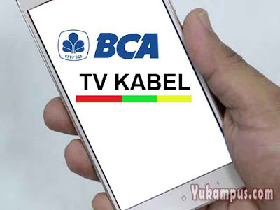 bayar tv berlangganan m banking bca
