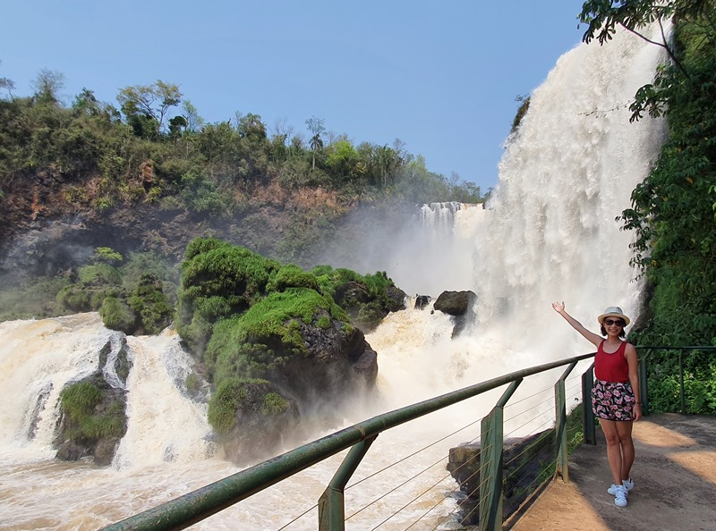 Saltos Monday - Cataratas do Paraguai
