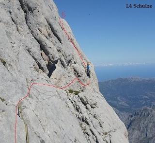 Vía Schulze al Picu Urriellu