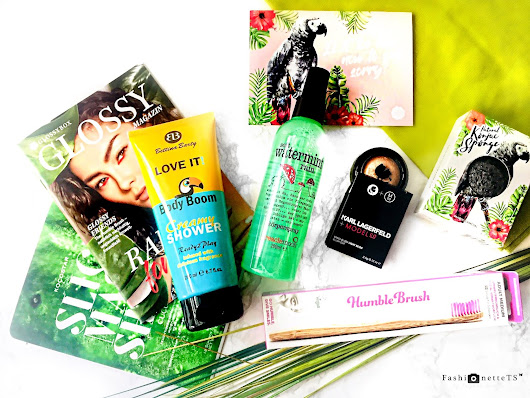FashionetteTS by Tatjana Svenja: BEAUTY │ GLOSSYBOX APRIL // RAIN FOREST