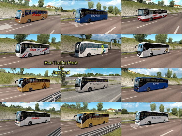 ets 2 bus traffic pack v7.3 by jazzycat screenshot