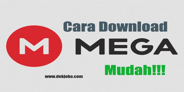 cara download di mega.nz