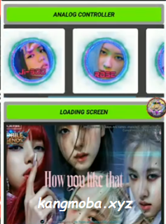 APK Injector Analog Controller Blackpink + Loading Screen Mobile Legends