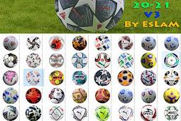 Ball Pack New Season 2020-2021 V3 - PES 2017