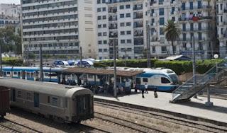 تغيير اوقات انطلاق القطار بين الجزائر العاصمة و ظواحيها