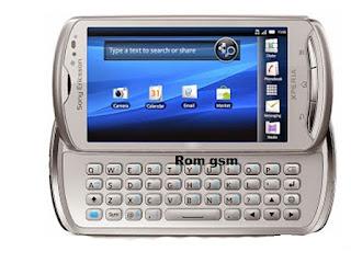 Firmware Download Sony Ericsson Xperia Pro MK16i