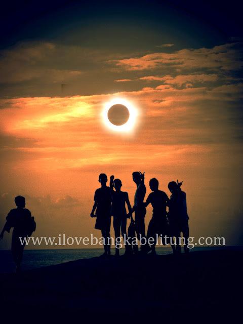 paket wisata Gerhana Matahari Total di Bangka Belitung
