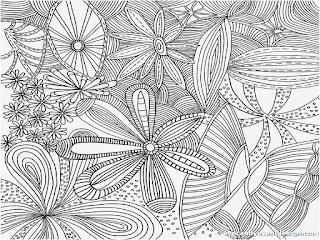 Ausmalbilder Muster Leicht