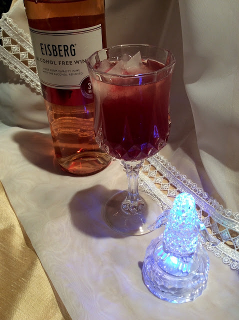 Christmas non-alcoholic cocktail