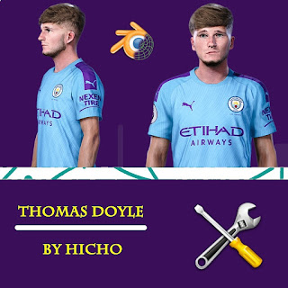 PES 2020 Faces Thomas Doyle by Hicho