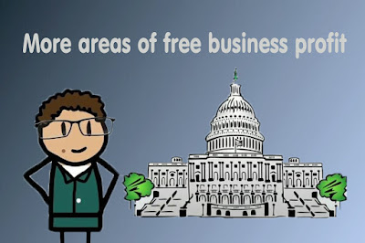 More areas of free business profit