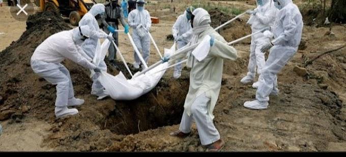 कोरोना से दहशत में पूरा गांव: 23 दिन में23 लोगों की कोरोना से मौत,अल्हेड में दहशत का महौल