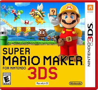 Super Mario Maker, 3DS, español, mega, mediafire
