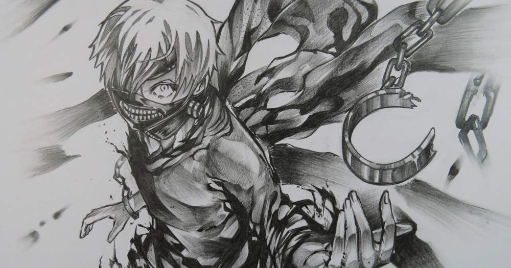 Ken Kaneki Dibujos: Art, Painting, Drawing, Tips And Tutorials: Drawing Ken