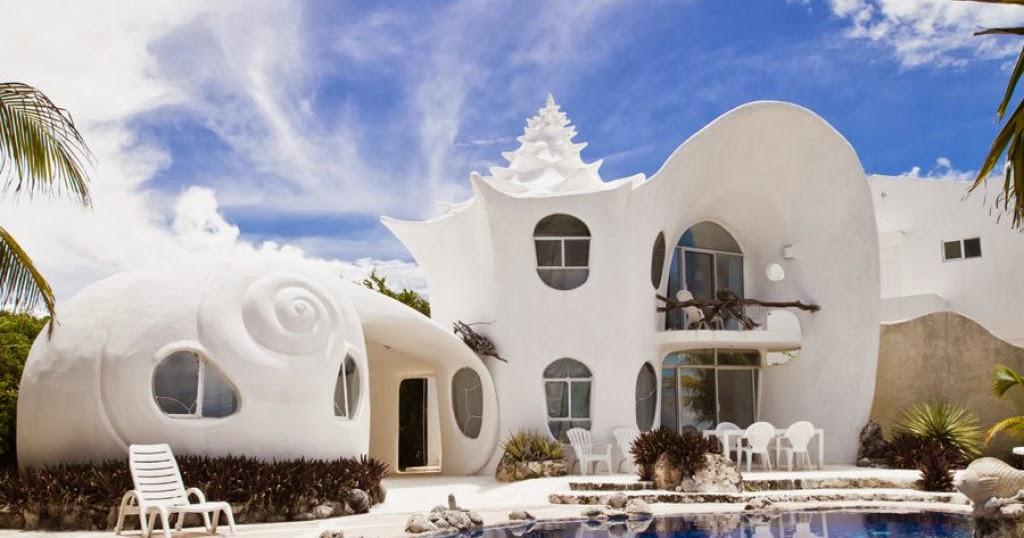 World's Snaps: Conch Shell House Isla Mujeres Mexico