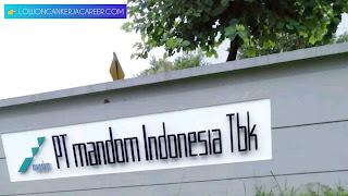 Loker PT Mandom Indonesia Tbk 2020