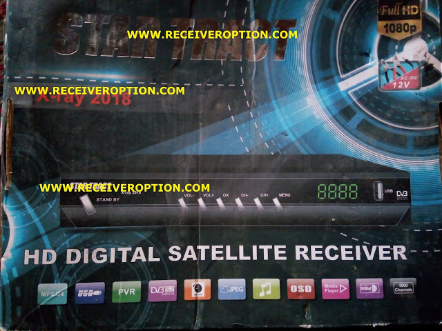 STAR TRACT X-RAY 2018 HD RECEIVER AUTO ROLL POWERVU KEY NEW SOFTWARE MAY23 2018