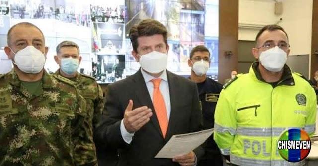 Integrante del ELN capturado por infiltrarse en las manifestaciones en Colombia