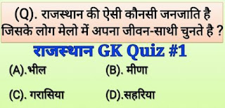 Rajasthan GK in hindi PDF file download - Rajasthan GK tricks in hindi