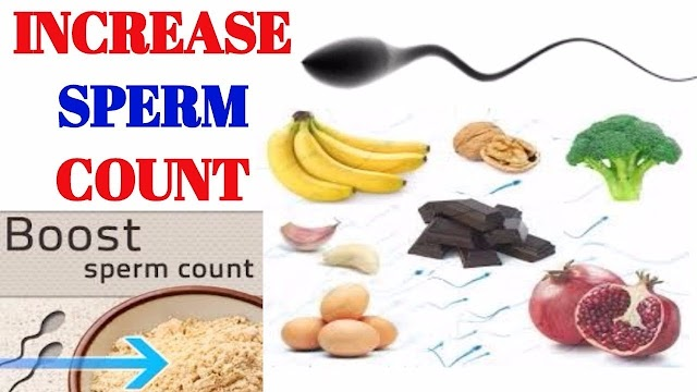 7 Healthy Foods That Increase Sperm Count
