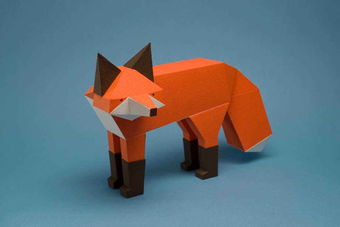 Animales Geométricos Por Guarda Bosques